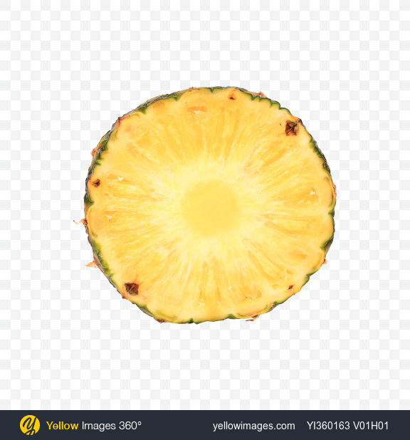 Download Pineapple Slice Transparent PNG on YELLOW Images