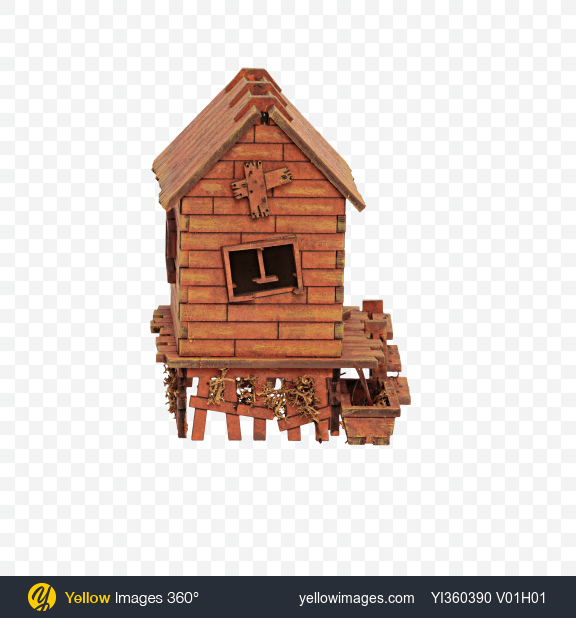Download Wooden House Model Transparent PNG on YELLOW Images