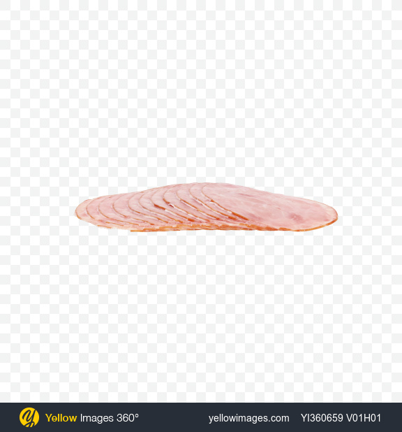 Download Ham Slices Transparent PNG on YELLOW Images