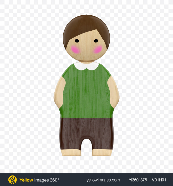 Download Wooden Toy Boy Transparent PNG on YELLOW Images