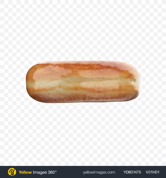 Download Sugar Glazed Donut Transparent PNG on YELLOW Images