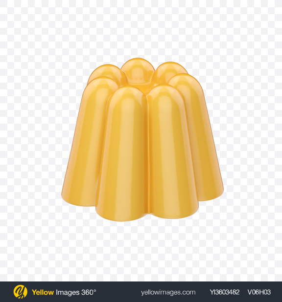 Download Vanilla Pudding Transparent PNG on YELLOW Images