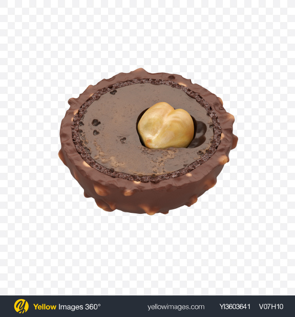 Download Half of Chocolate Candy Transparent PNG on YELLOW Images