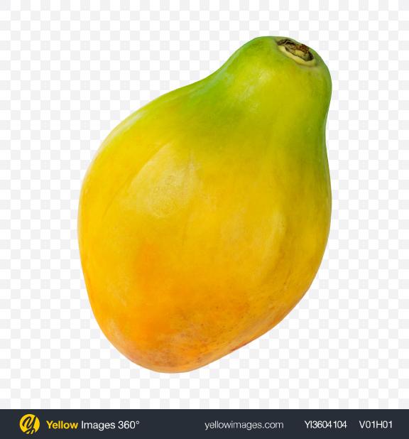 Download Papaya Transparent PNG on YELLOW Images