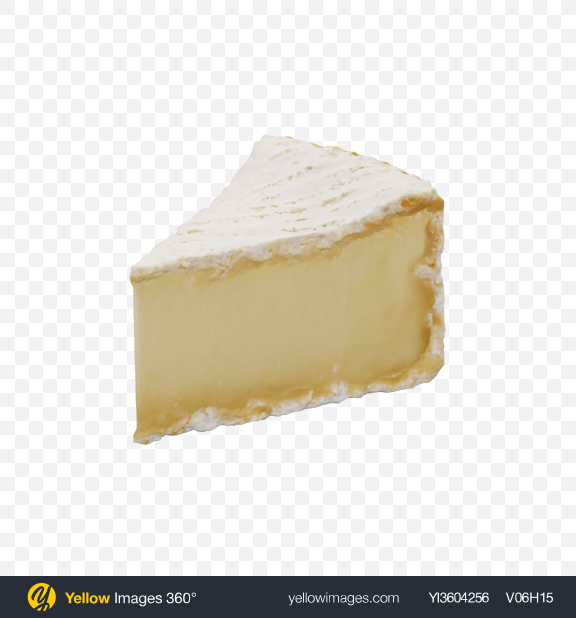 Download Brie Cheese Triangle Transparent PNG on YELLOW Images