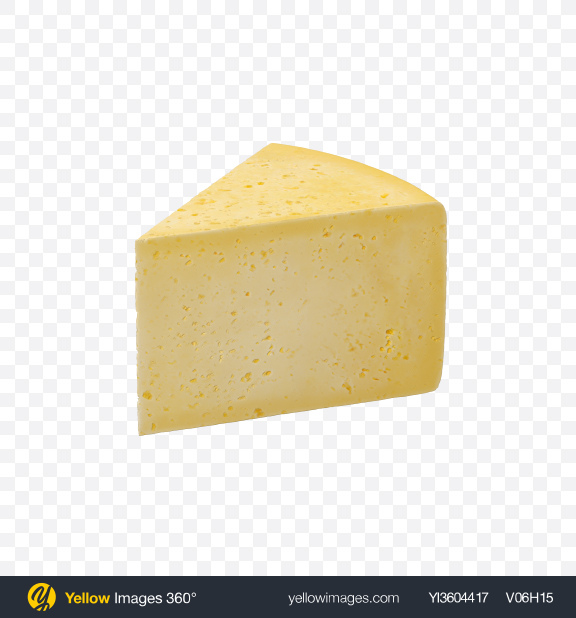 Download Havarti Cheese Triangle Transparent PNG on YELLOW Images