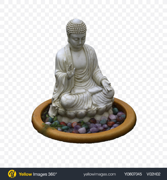 Download Buddha Figurine Transparent PNG on YELLOW Images
