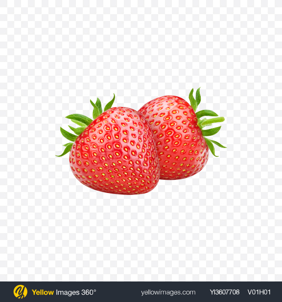 Download Strawberries Transparent PNG on YELLOW Images