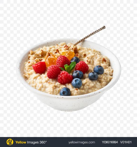 Download Porridge w/ Berries Transparent PNG on YELLOW Images