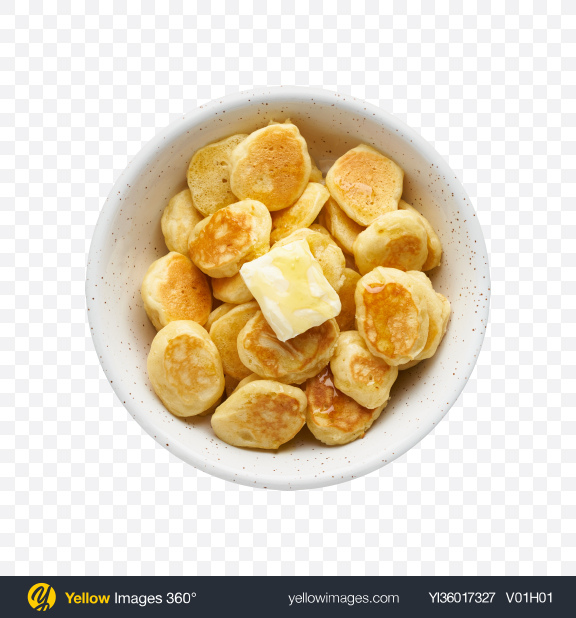 Download Pancakes w/ Butter Transparent PNG on YELLOW Images