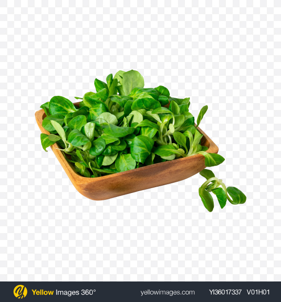 Download Spinach in Wooden Bowl Transparent PNG on YELLOW Images