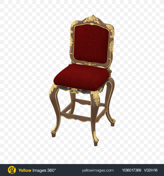 Download Baroque Stool Transparent PNG on YELLOW Images
