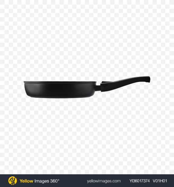 Download Aluminum Frying Pan Transparent PNG on YELLOW Images