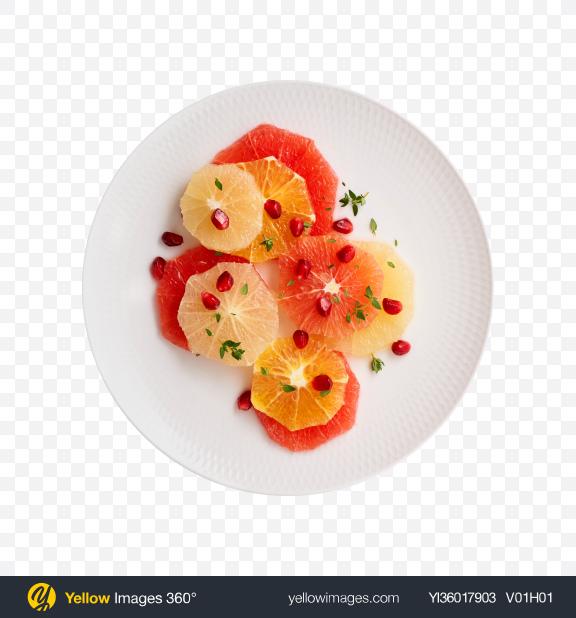 Download Citrus Fruits Slices Set Transparent PNG on YELLOW Images