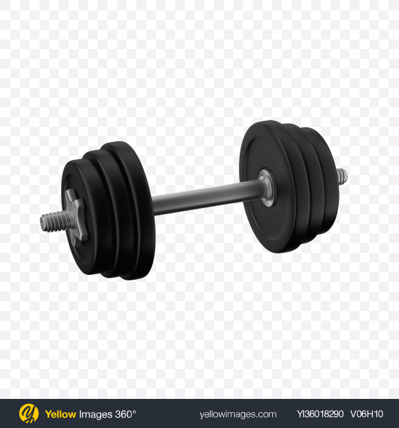 Download Black Dumbbell Transparent PNG on YELLOW Images