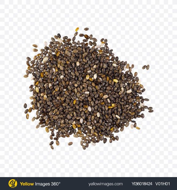 Download Chia Seeds Pile Transparent PNG on YELLOW Images