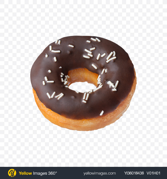Download Chocolate Donut Transparent PNG on YELLOW Images