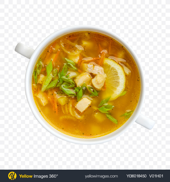Download Vegetable & Fish Soup Transparent PNG on YELLOW Images