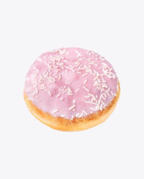Bun w/ Pink Glaze