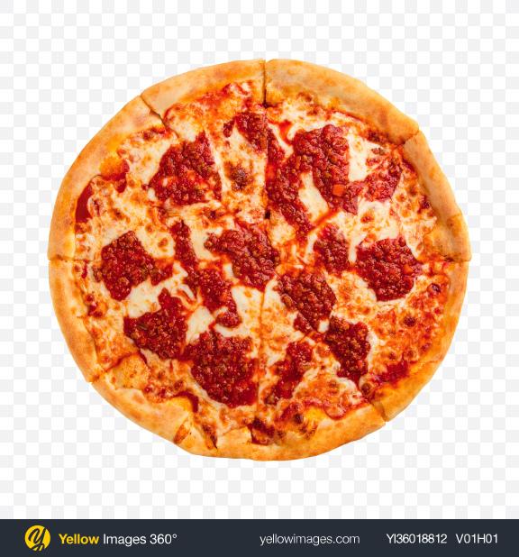 Download Pizza Arrabbiata Transparent PNG on YELLOW Images
