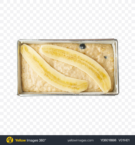 Download Banana Bread Dough Transparent PNG on YELLOW Images
