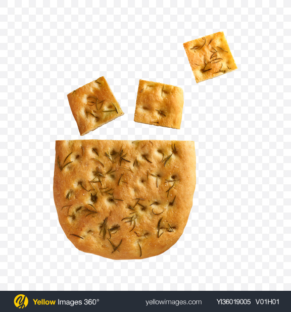 Download Biscuit w/ Rosemary Transparent PNG on YELLOW Images