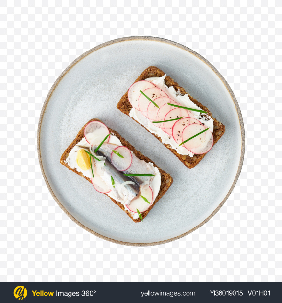 Download Anchovy Toasts Transparent PNG on YELLOW Images