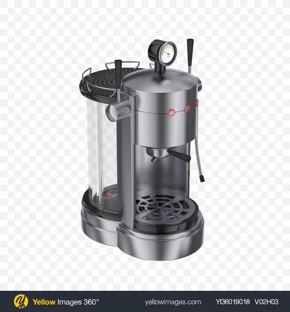 Download Coffee Machine Transparent PNG on YELLOW Images