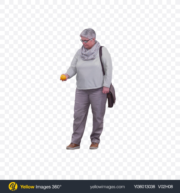 Download Woman Holding Orange Transparent PNG on YELLOW Images