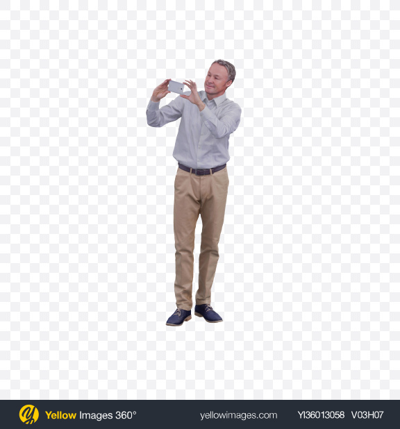 Download Man Taking Picture Transparent PNG on YELLOW Images