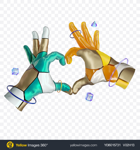 Download Abstract Hands Transparent PNG on YELLOW Images