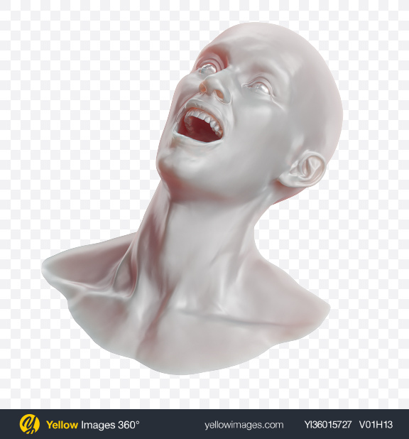 Download Abstract Head Transparent PNG on YELLOW Images