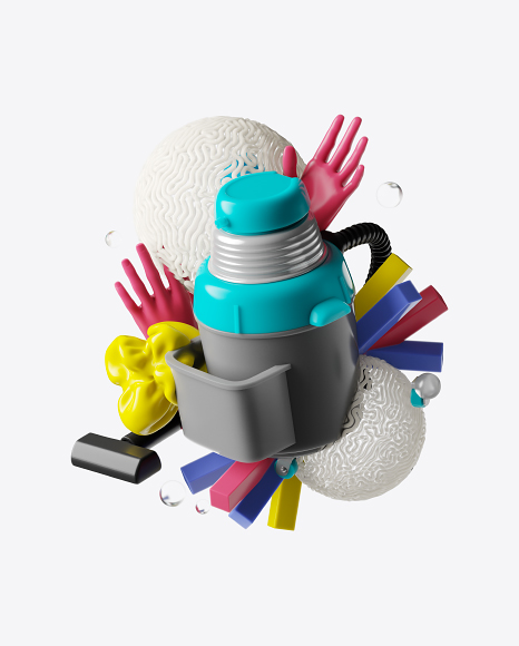 Abstract Cleaning Set