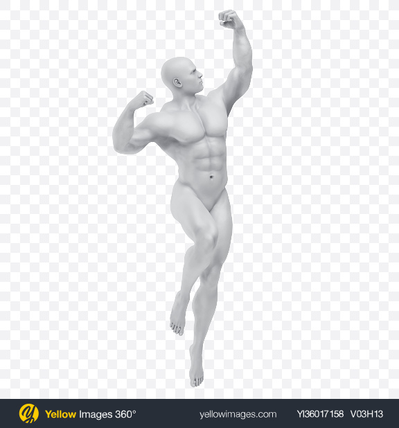 Download Body of a Man Transparent PNG on YELLOW Images