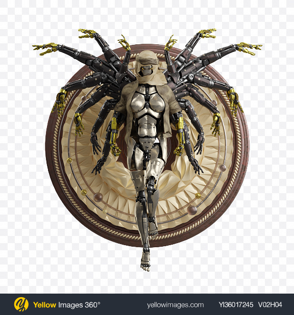 Download Robot Transparent PNG on YELLOW Images