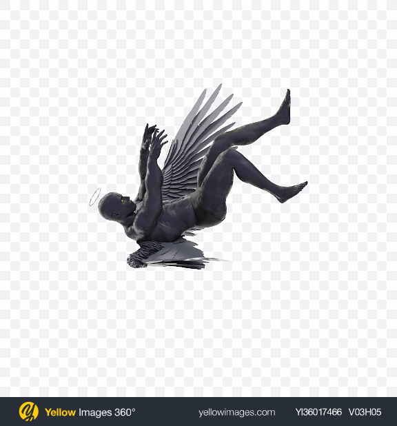Download Dark Angel Transparent PNG on YELLOW Images
