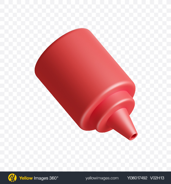 Download Ketchup Bottle Icon Transparent PNG on YELLOW Images