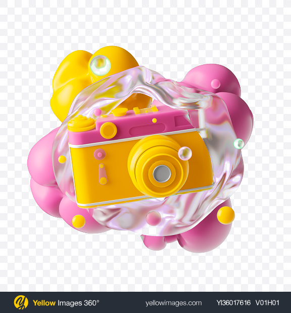Download Abstract Camera Set Transparent PNG on YELLOW Images