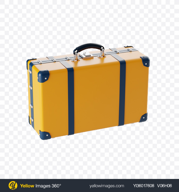 Download Suitcase Icon Transparent PNG on YELLOW Images