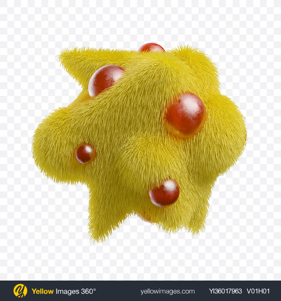 Download Abstract Fluffy Shapes Transparent PNG on YELLOW Images