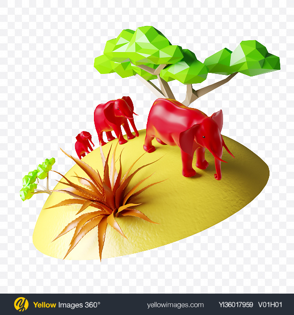 Download Abstract Safari Set Transparent PNG on YELLOW Images