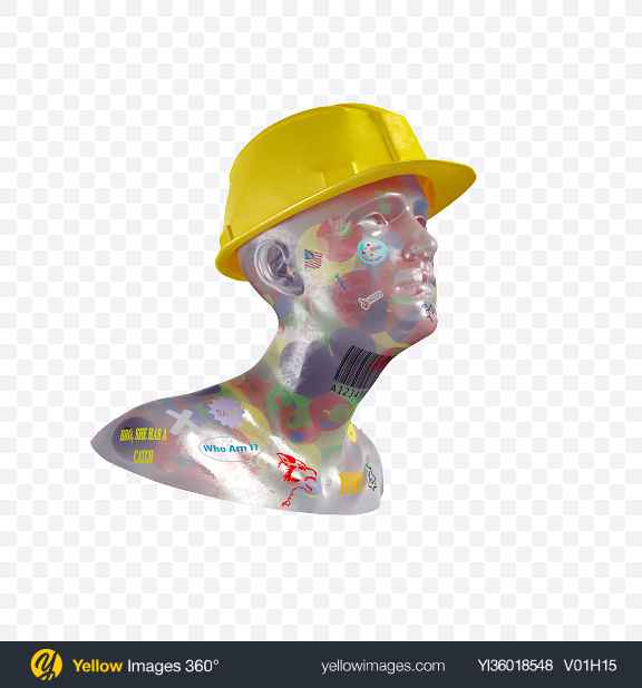 Download Abstract Bust Transparent PNG on YELLOW Images